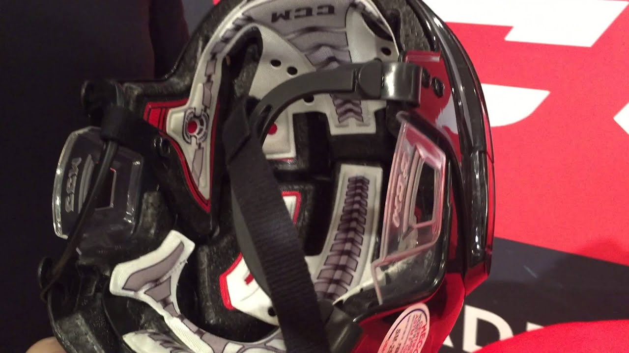 4f393b62833 CCM Fitlite Hockey Helmet - YouTube