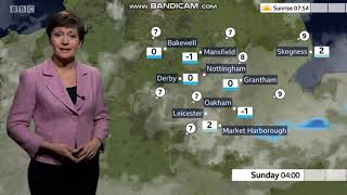 Sara Blizzard East Midlands Today Weather November 30th 2019