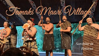 Tamaki Maori Village | Day 9 | Sanshine in New Zealand