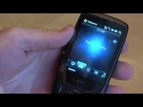 Vidéo test HTC Touch 3G qualité HD
