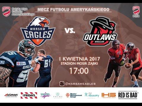 Warsaw Eagles Vs. Outlaws Wrocław
