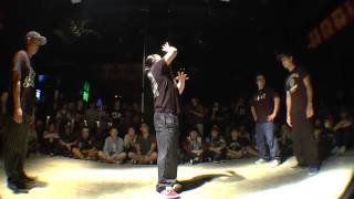 舞踏者 vs ATZO & P→☆ BEST8 POP / WDC 2015