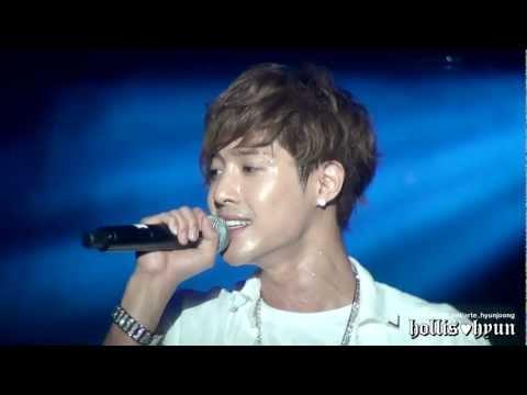 120602 김현중(Kim Hyun Joong) Because I'm Stupid @ Guangzhou FM