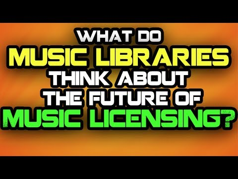 What Do Libraries Think About The Future of Music Licensing?