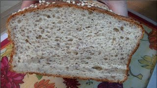 Gluten Free Flax & Sesame Sandwich Bread Recipe ~ Noreen's Kitchen