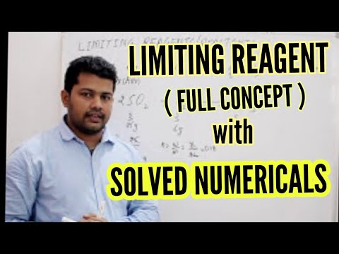 LIMITING REAGENT { FULL CONCEPT }| BASIC CONCEPT OF CHEMISTRY | IIT JEE | NEET | AIIMS