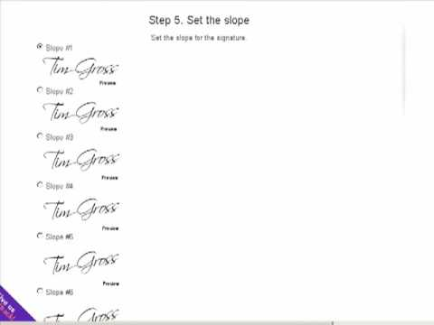 How To Create Signature Font Using Free Online Software Tool - YouTube