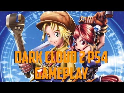 Dark Cloud 2 PS4 Gameplay: Just Starting Out