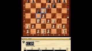 CHESSMASTER 9000 & FRITS 6. 2a partida.