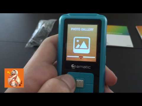 ⚽ EMATIC MP3 VIDEO PLAYER 8GB Overview | MP3 ВІДЕО ПЛЕЄР VLOG @ Arsen TV