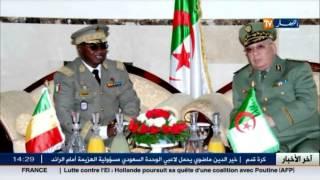 دفاع: الفريق أحمد قايد صالح يستقبل رئيس الأركان العامة المالية