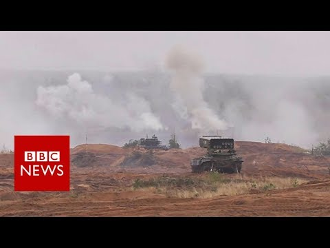 Huge Russian war games under way - BBC News