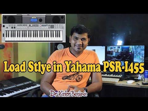 How To Load Indian Style|| Rhythm|| Beats ||on Yamaha PSR-i455|| Easy Way