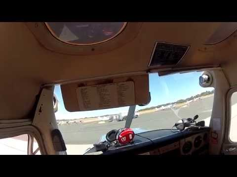 Cessna 152 Pre Flight Check, Taxi and Takeoff Jandakot Airport