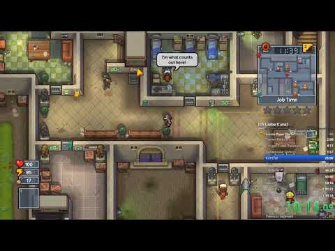 The Escapists 2 100% All Prisons Speedrun (Co-op) World Record: 1:01:39.76
