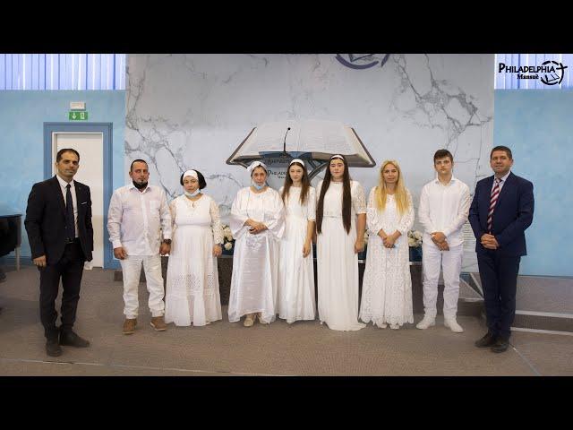 Botez Nou Testamental 18/07/2021    Serviciu Divin