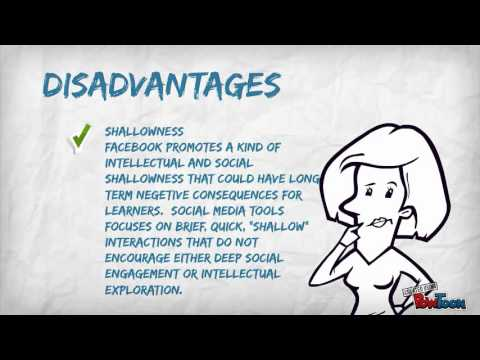 the disadvantages of facebook Facebook have both pros and cons well this is the complete essay for students in points about advantages and disadvantages of using facebook for business.