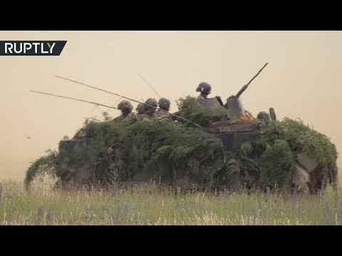 NATO forces continue drills in Poland as part of 'Operation Saber Strike'