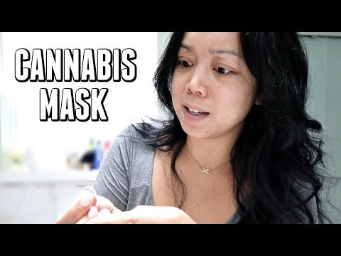 I Try a Cannabis Mask for the First Time -  ItsJudysLife Vlogs