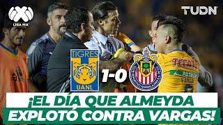¡Gol de último minuto! Almeyda EXPLOTA contra Edu Vargas | Tigres 1-0 Chivas - AP2017 | TUDN