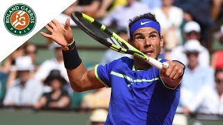 Rafael Nadal v Robin Haase Highlights - Men's Second Round 2017 | Roland-Garros