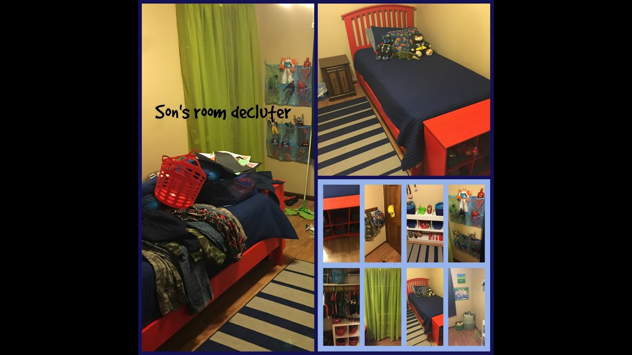 Organizing a small kids room