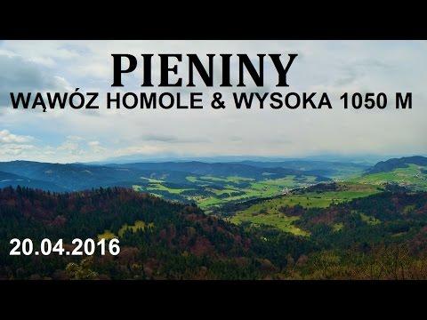 PIENINY - Wysoka 1050 M 20.04.2016