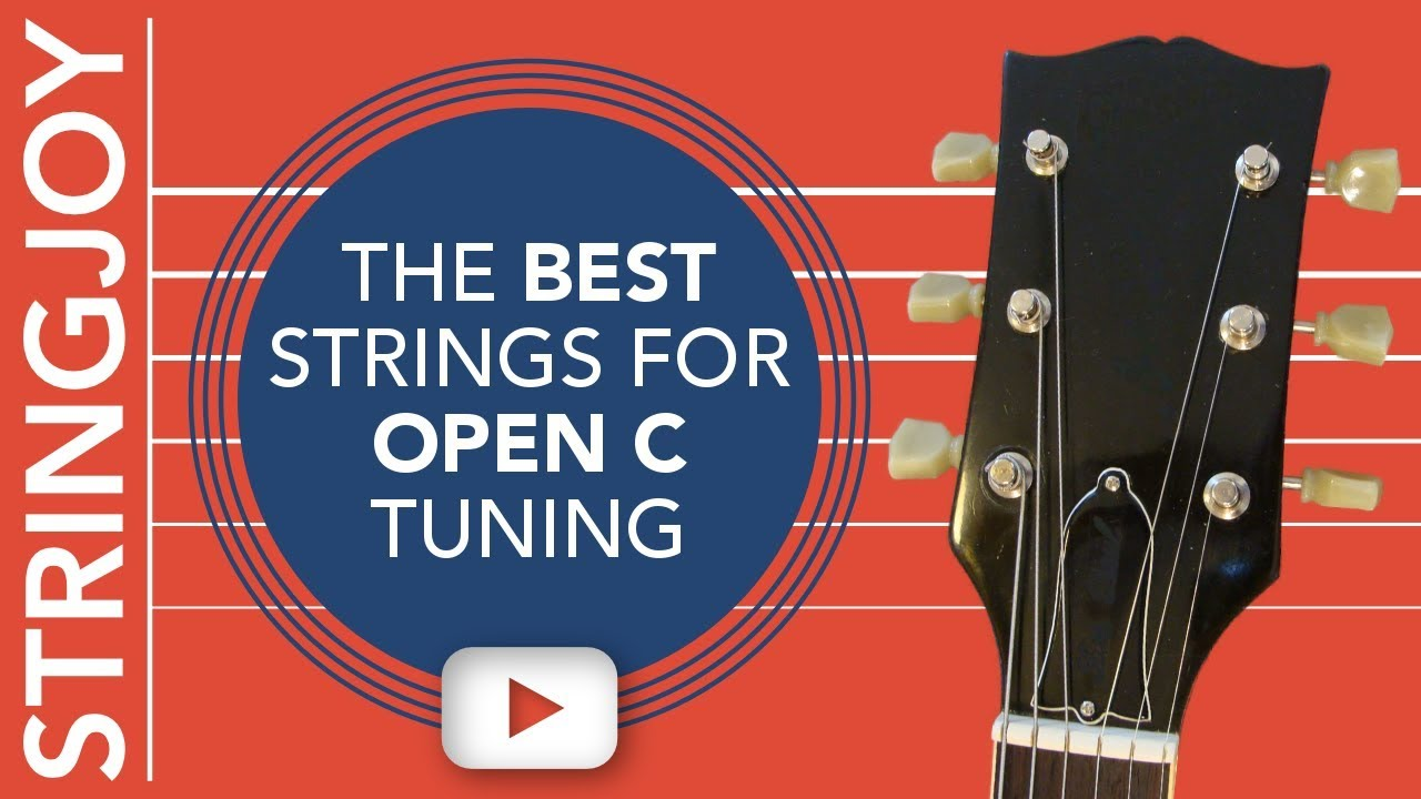 the best guitar strings for open c guitar tuning youtube. Black Bedroom Furniture Sets. Home Design Ideas