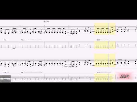 Slipknot Tabs - Psychosocial (rhythm)