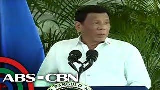 TV Patrol: Duterte pinanindigan ang proklamasyon vs amnestiya ni Trillanes