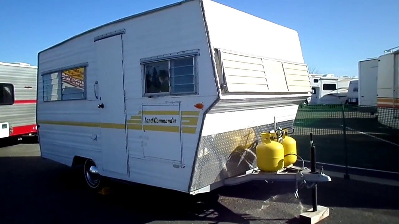 Rv For Sale 1968 Aristocrat Land Commander Vintage Camper 18 In Lodi Stockton Ca Lodi Park And Sell