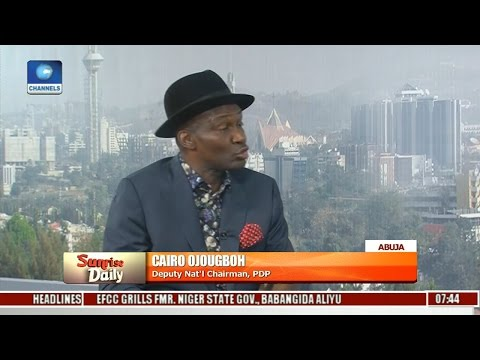 PDP Reconciliation Meeting Must Be Chaired By National Chairman - Cairo Ojougboh Pt 1