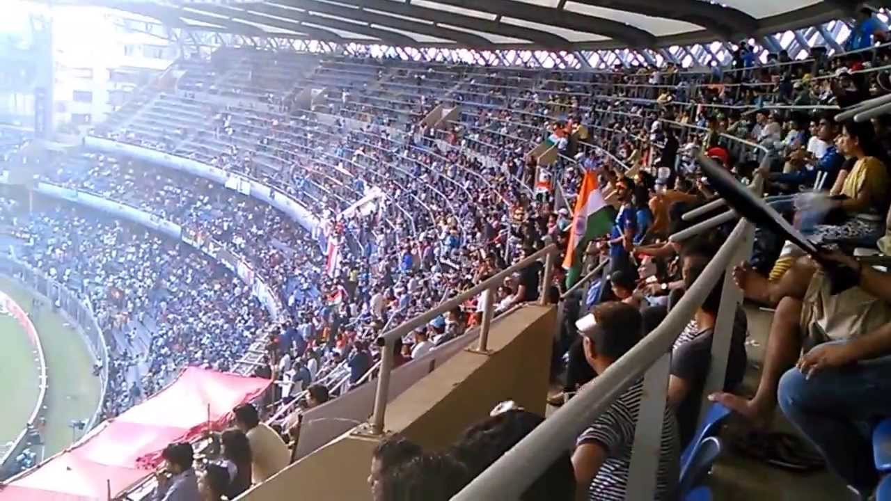 Sachin S Last Match Crowd Cheering For Him Youtube