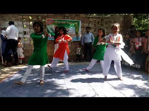 Mera Desh Mera Mulk Mera Ye Watan agrani children Academy celebrating Independence Day 70