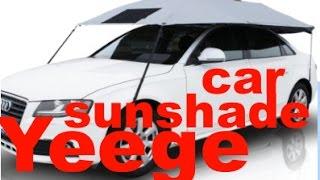 YEEGE Car Sun Shade Covers Umbrella