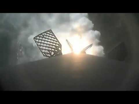 SpaceX Rocket Makes a Water Landing After Hydraulic Pump Stalls