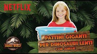 Pattini GIGANTI per Bumpy di Jurassic World 🦖 | Curiosando con Flip e Tao e @Ameli TVIT