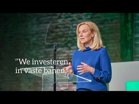 """D66 — """"Wij investeren in vaste banen, voor mensen én en de economie"""" - Sigrid Kaag"""