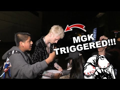 MGK Gets Triggered As Someone Mentions Eminem