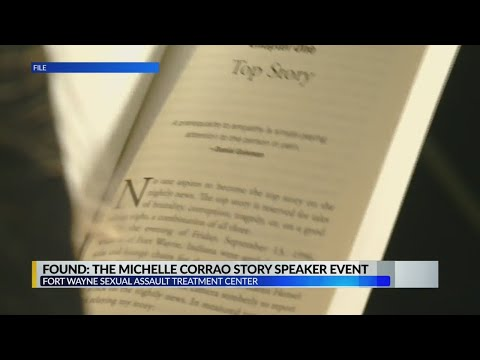 Michelle Corrao to start speaking on sexual assault