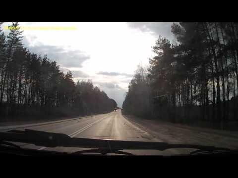 Трасса Нижний Новгород - Киров 14.04.2016г.