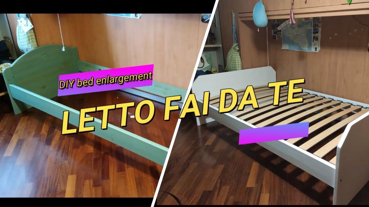 Interior Design Fai Da Te diy bed frame enlargement   -atc-