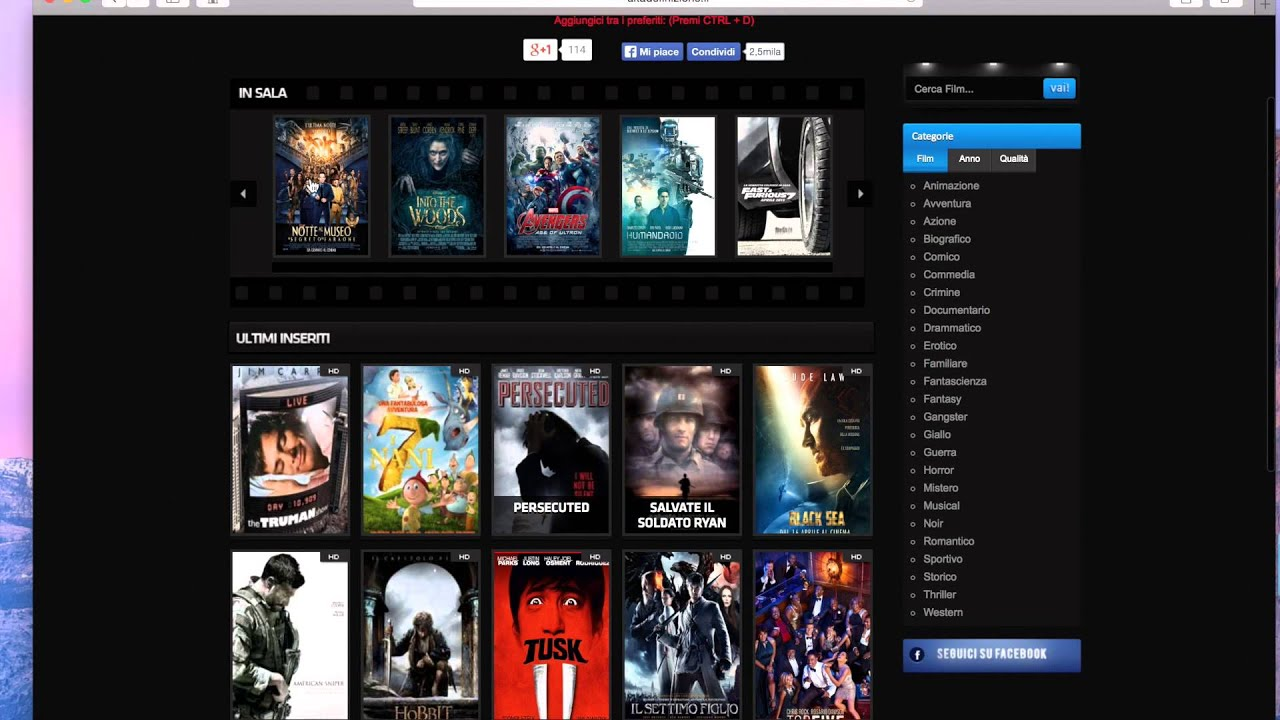 youtube video musicali gratis cinema streaming gratis