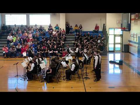 """Smokey Road Middle School Jazz Band Performs """"High Maintenance"""""""
