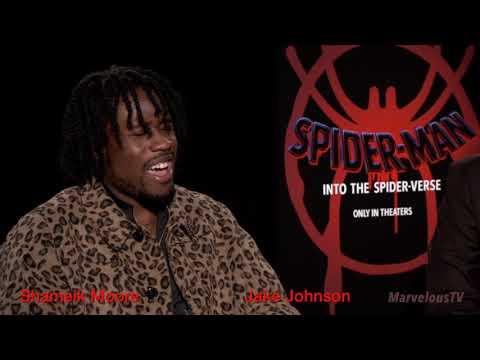 Shameik Moore & Jake Johnson 'On Empowerment'  Spider-Verse