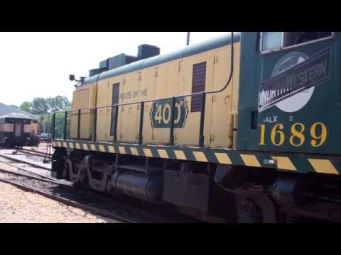 2016 Illinois Railway Museum Diesel Days 07/24/16 (1/2)