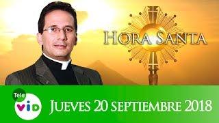 A Solas Con El Señor, Hora Santa Padre Pedro Justo Berrío, Septiembre 20 2018 - Tele VID