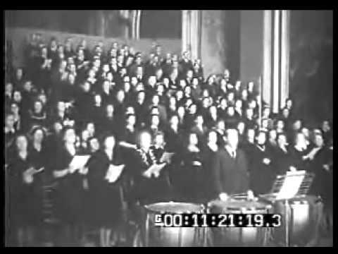 De Sabata conducts Mozart Requiem - 1941 (video fragment)