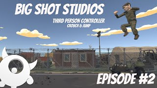 [2] Third Person Controller - Crouch & Jump || Multiplayer  Series