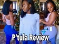 A Black Girl's Review: P'tula Activewear Try On & Thoughts ||SusieB